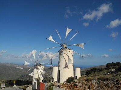 Canvastavlor Väderkvarn i Lasithiplatån