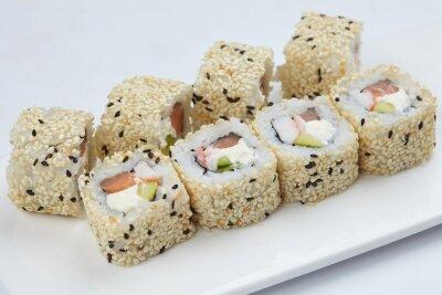 Canvastavlor välsmakande sushi
