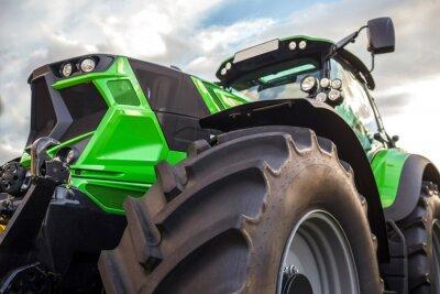 Canvastavlor Vanlig modern traktor