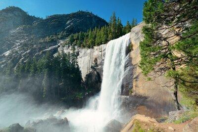 Canvastavlor vattenfall