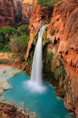 Canvastavlor Vattenfall i Grand Canyon, Arizona, USA