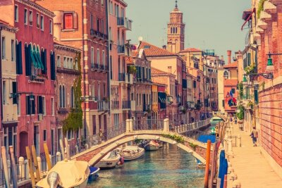 Canvastavlor Venedig Italien Arkitektur