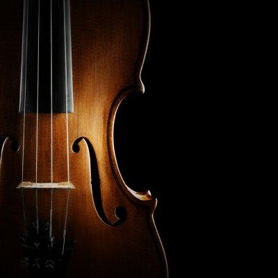 Canvastavlor Violin orkester musikinstrument