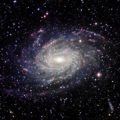 Canvastavlor Visa Galaxy systemet isolerade delar av bilden som tillhandahålls av NASA