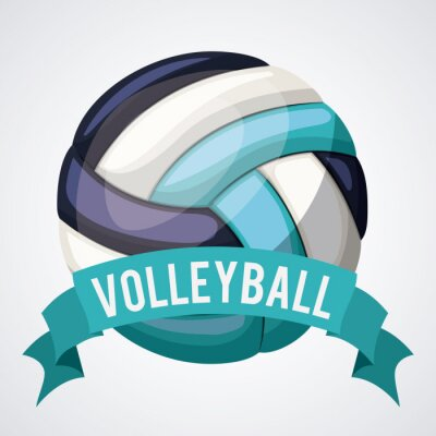 Canvastavlor volleyboll ligan konstruktion