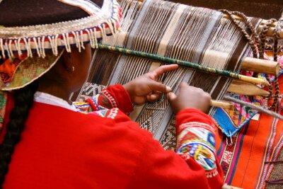 Canvastavlor Weberin i Cusco / Peru