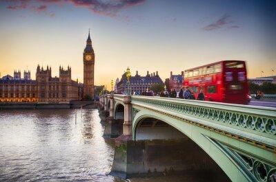 Canvastavlor Westminster Bridge