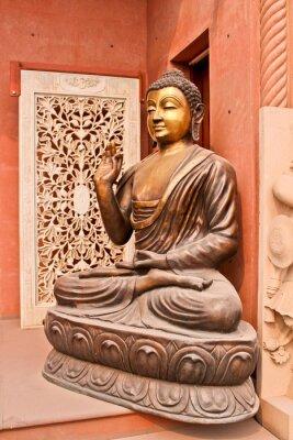 Canvastavlor статуя Будды, Агра