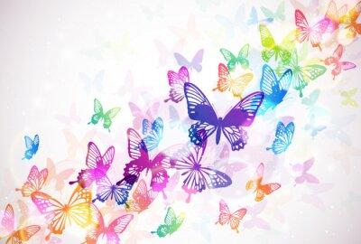Canvastavlor 蝶 々