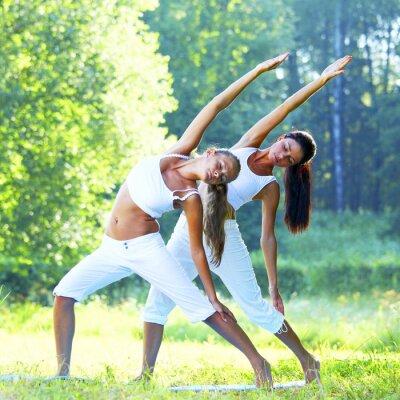 Canvastavlor yoga