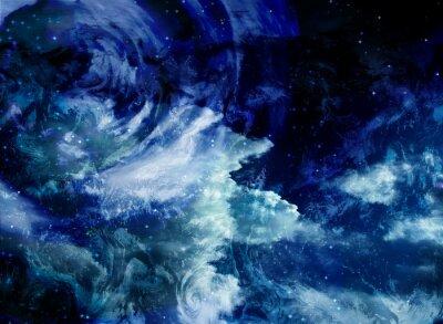 Canvastavlor Yttre rymden