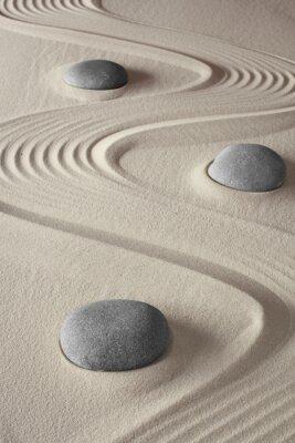 Canvastavlor Zen trädgård