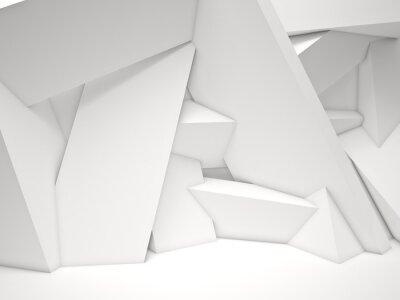 Fototapet 3d geometriska vägg