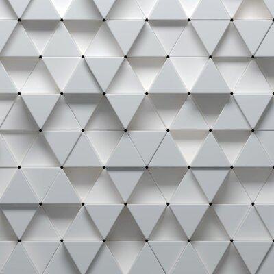 Fototapet 3d illustration av geometriska mönster