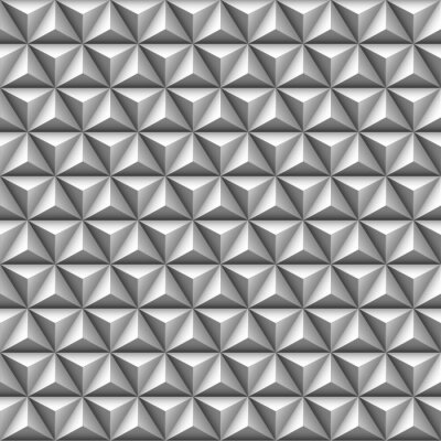 Fototapet 3d triangel seamless
