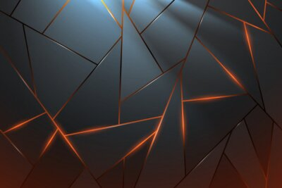 Fototapet Abstract metal background with light effect