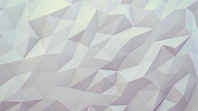 Fototapet abstrakt 3d bakgrund. Techno triangulär låg poly bakgrund