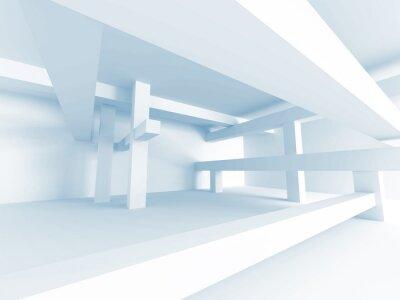 Fototapet Abstrakt arkitektur Concept. Modern Building Inredning
