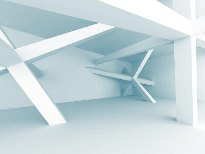 Fototapet Abstrakt arkitekturbakgrund. konstruktion struktur