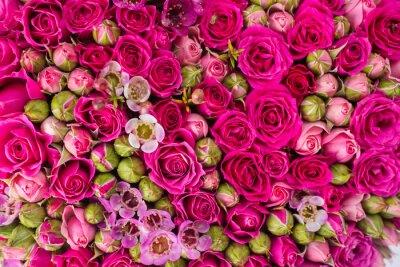 Fototapet Abstrakt bakgrund av blommor.