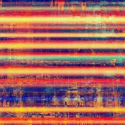 Fototapet Abstrakt bakgrund eller textur. Med olika färgmönster: gul (beige); blå; röd (orange); rosa; lila (lila)