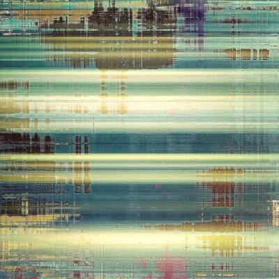 Fototapet Abstrakt bakgrund eller textur. Med olika färgmönster: gul (beige); brun; vit; blå; grön