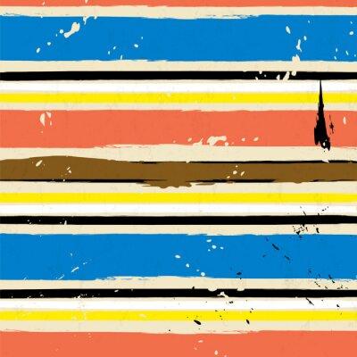 Fototapet abstrakt bakgrund, med stroke och stänk, randmönster,