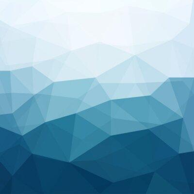 Fototapet abstrakt blå bakgrund