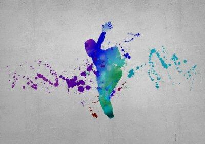 Fototapet abstrakt dancer