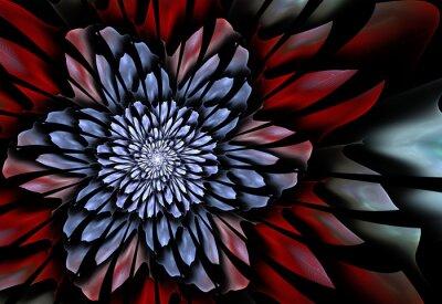 Fototapet Abstrakt fractalblomma
