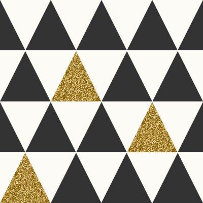 Fototapet Abstrakt geometrisk Seamless
