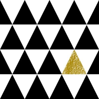 Fototapet Abstrakt geometriska mönster
