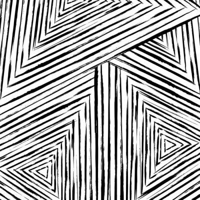 Fototapet abstrakt geometriskt mönster bakgrund, med slag och stänk