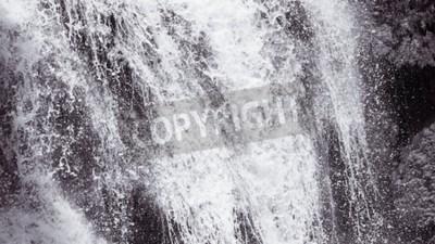 Fototapet Abstrakt hård vattenfall textur bakgrund