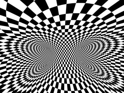 Fototapet abstrakt illusion