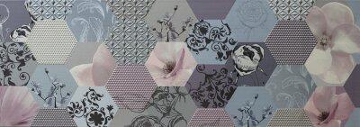Fototapet abstrakt mosaik Portugisiska