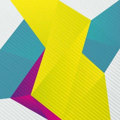 Fototapet abstrakt origami