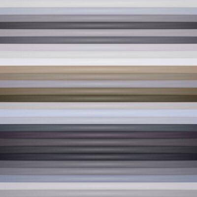 Fototapet Abstrakt retro vektor randig bakgrund