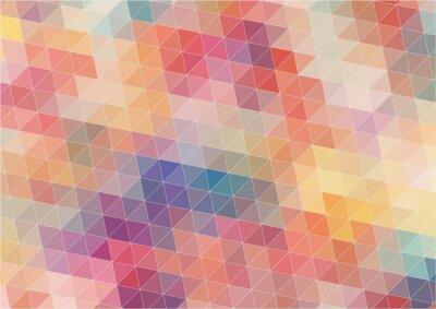 Fototapet Abstrakt Tvådimensionell färgrik bakgrund