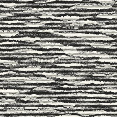 Fototapet Abstrakta randiga fläckar bedrövad bakgrund. Sömlöst mönster.