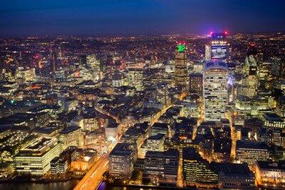 Fototapet Affärskontorsbyggnad i London, England