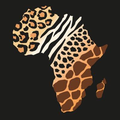 Fototapet Afrique_animaux sauvages