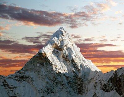 Fototapet Ama Dablam på väg till Everest Base Camp