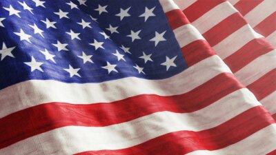 Fototapet Amerikanska flaggan