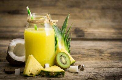 Fototapet Ananas juice