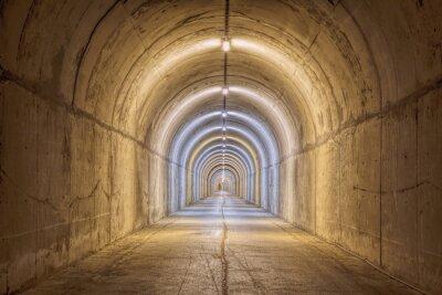 Fototapet ändlös Tunnel