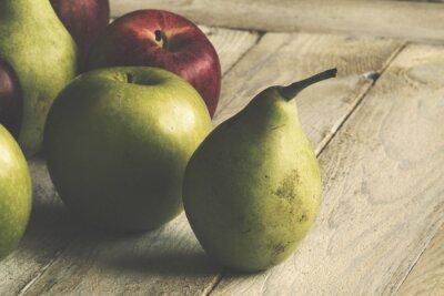 Fototapet Apple och Pear