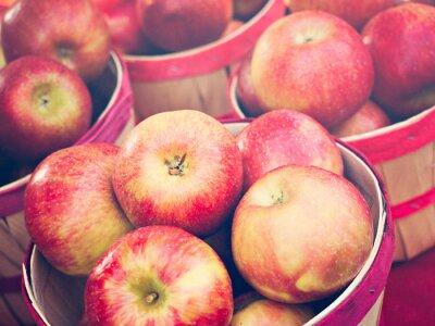 Fototapet äpplen