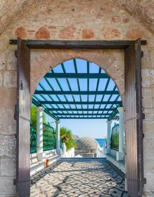 Fototapet Arch i fästningen