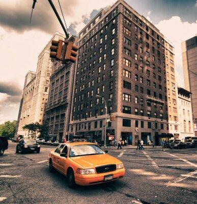 Fototapet Arkitektur Detalj av New York, USA
